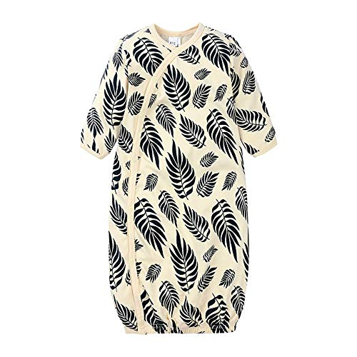 Baby Sleep Sacks Gowns, bebé Floral a Rayas Manga Larga enterito Sleepy Gown Swaddle Sleepwear Outfit