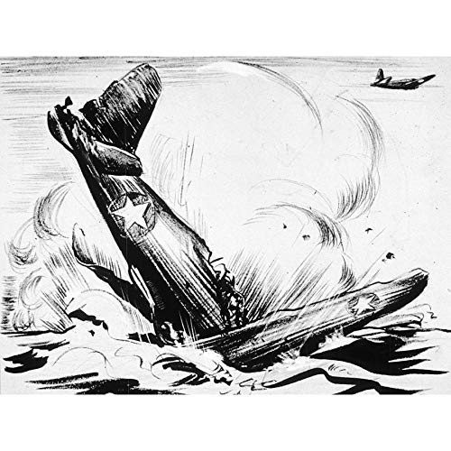 Alston War WWII Nodig Gas Vliegtuig Crash Advert Grote Muur Art Poster Print Dikke Papier 18X24 Inch
