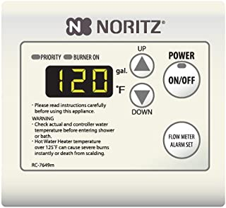 Noritz RC-7651M Remote Controller for Tankless Heaters