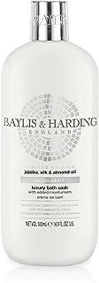 Baylis & Harding Baylis & Harding Jojoba, Silk & Almond Oil Moisturising Bath Soak, 500ml, 500 milliliters