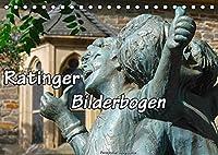 Ratinger Bilderbogen (Tischkalender 2022 DIN A5 quer): Die Stadt Ratingen am Rande des Bergischen Landes im Wandel der Jahreszeiten (Monatskalender, 14 Seiten )