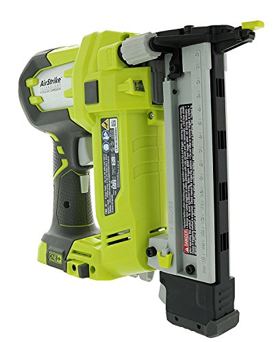 Ryobi P360 18 Volt Lithium Ion One+ 3/8 - 1 1/2 Inch Crown Stapler (Battery...