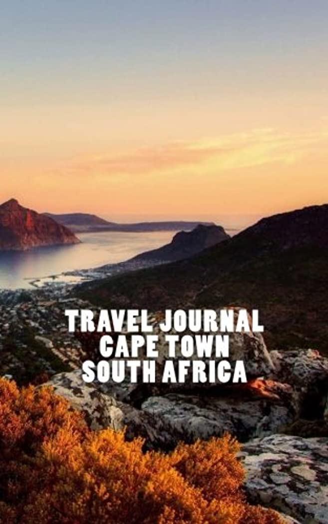 考古学者撤退商品Travel Journal Cape Town South Africa: overlooking the mountains and the bay