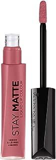 Rimmel Stay Matte Lip Liquid, Pink Bliss, 0.21 Fl Oz (Pack of 1)