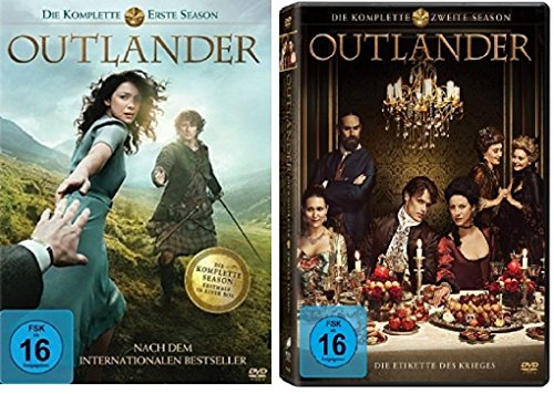 Outlander - Staffel 1+2 (12 DVDs)