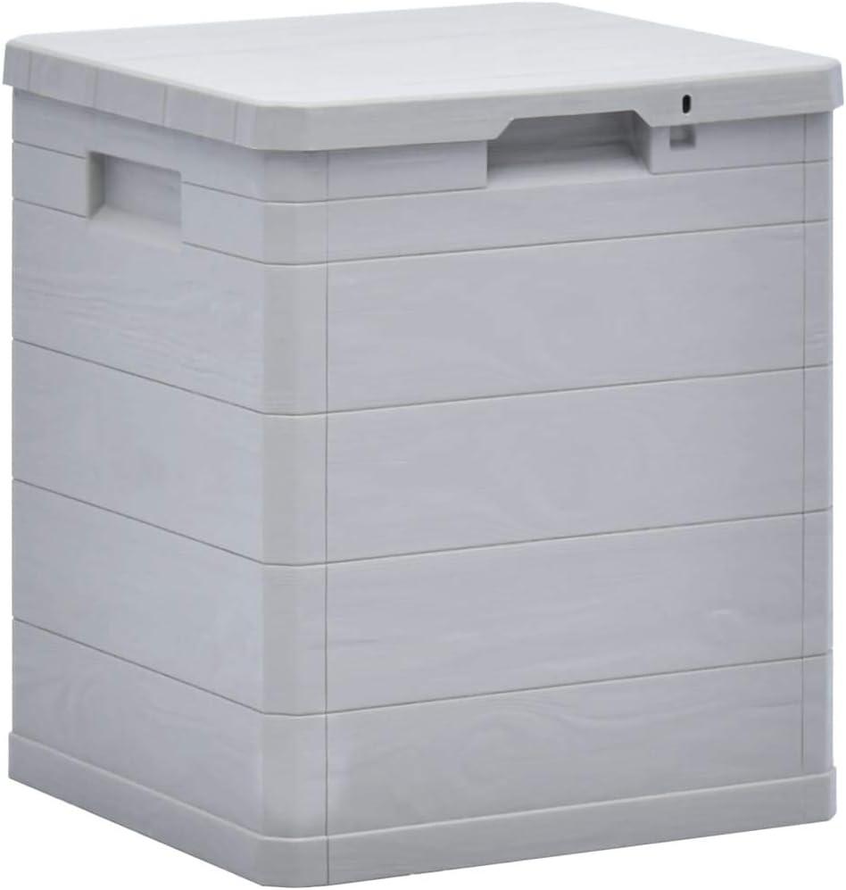 Max 79% OFF INLIFE Garden Storage Deck Lockable Container Box Plastic Special sale item