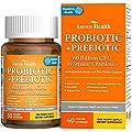 Probiotics for Women, Men, 60 Billions CFU, 19 Strains, 5 Prebiotics, Natural; Shelf Stable Probiotic Supplement with Organic Prebiotic, Acidophilus Probiotic; 60 Capsules