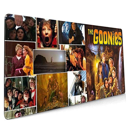 The Goonies Mouse Pad, Large Gaming 3D Textured Plastic Surface Mouse Pad with Non-Slip Rubber, Fast and Smooth Control for High Dpi Game, Compatible with All Dpi Mice for Both Work & Gaming