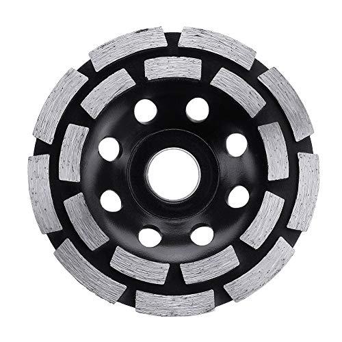 ZLININ CD turbo de sierra de diamante azulejos de cerámica de corte de granito de mármol de diamantes sierra ángulo de la hoja amoladora (Outer Diameter : Black)