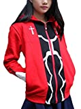 GK-O Unisex Anime Fate Stay Night Archer Red Zipper Thick Hoodie Cosplay Costume Sweatshirt (Asian...