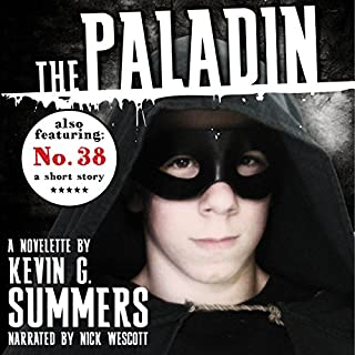The Paladin audiobook cover art