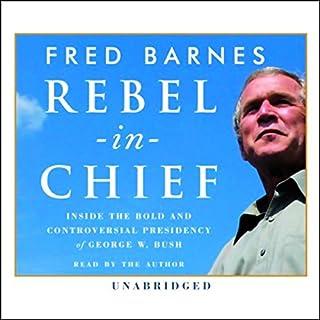 Rebel-in-Chief audiobook cover art