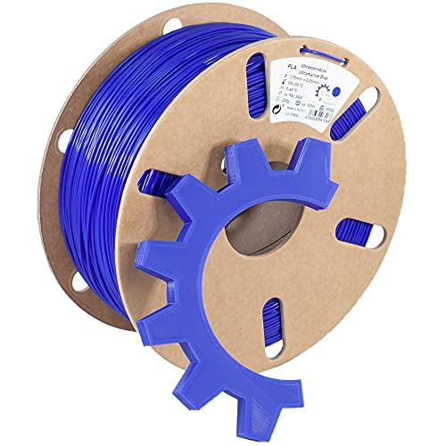 Ring Industrial Filaments Filamento PLA para impresora 3D, 1,75 mm (1 kg, azul ultramarino aprox. RAL 5002)