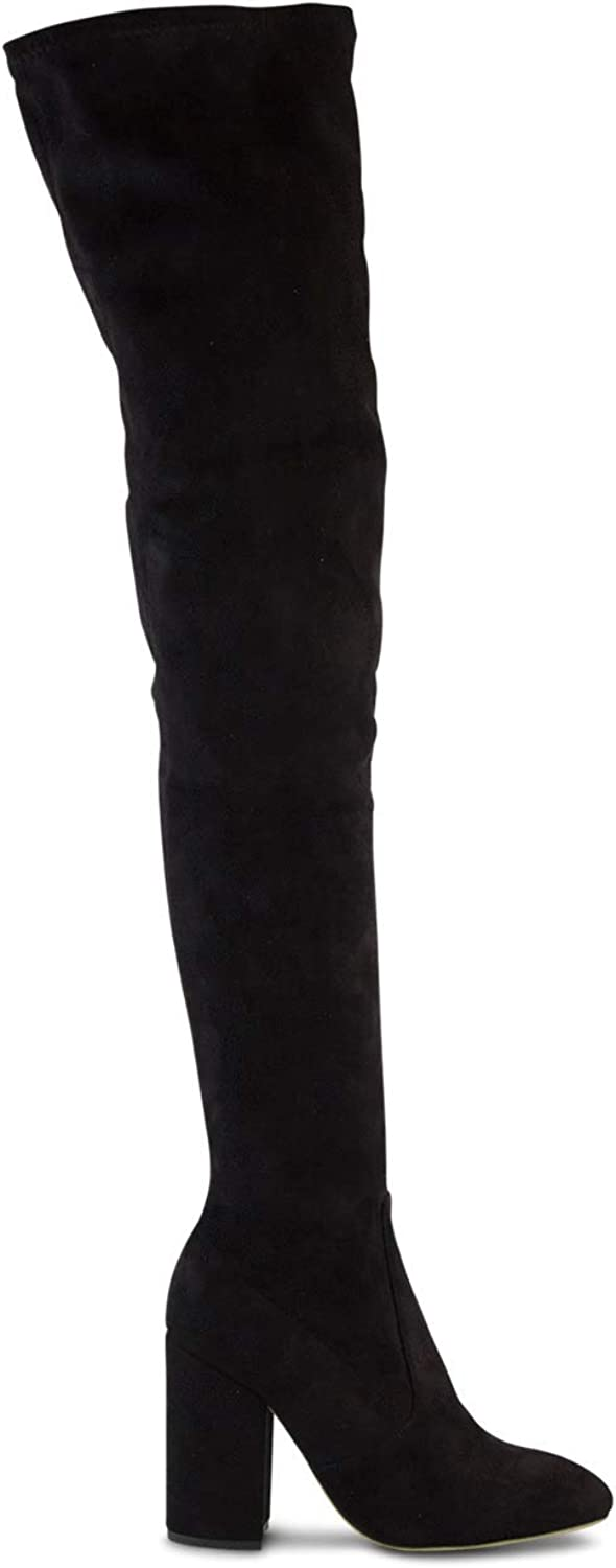 Tony Bianco Athens Womens Boots - Microstretch Suede Long Boot