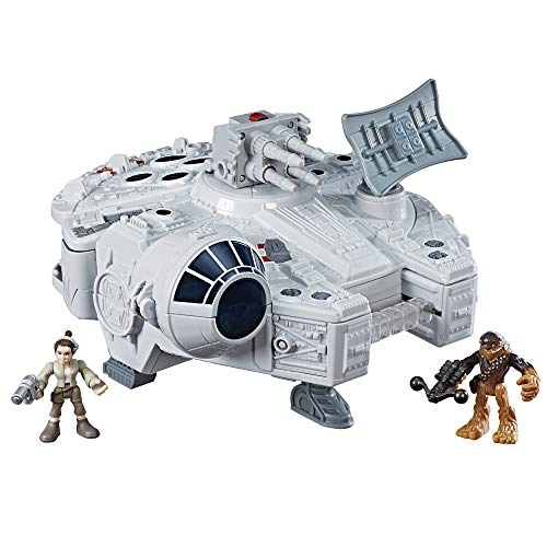 Playskool Heroes Star Wars Galactic Heroes Millennium Falcon and Figures (Amazon Exclusive)