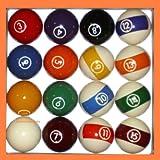 BC Precision Aramith 2Continental 1/4'Reglamento de Billar Juego de Bolas de...