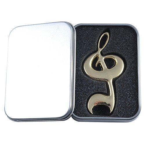 Punk, apribottiglie a forma di chiave di violino Gold High Note
