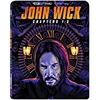 John Wick: Chapters 1-3 [4K + Digital] [Blu-ray]