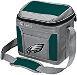Coleman NFL Soft-Sided Insulated Cooler and Lunch Box Bag, 9-Can Capacity, Philadelphia Eagles
