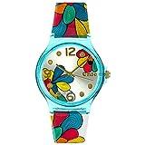 Teenie-Weenie Chic Watches UC003 - Reloj para Mujeres, Correa de plástico Multicolor