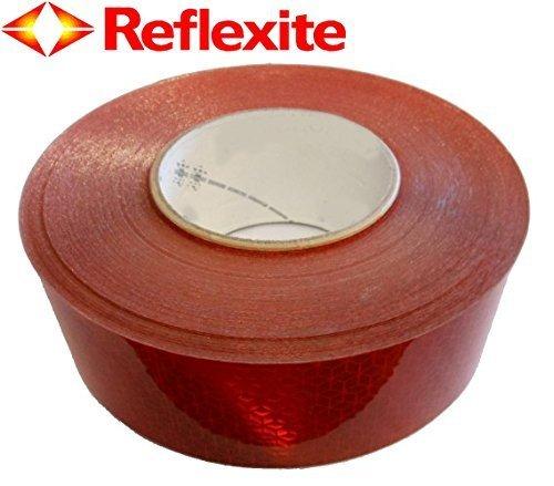 Orafol–Oralite VC104+ reflektierendes Klebeband rot (Reflexite ece104konform)