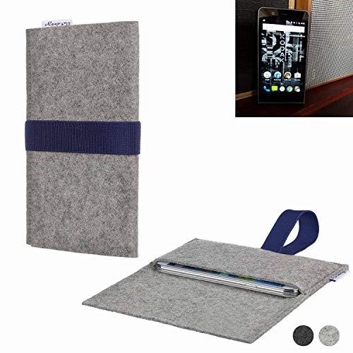flat.design Handy Hülle Aveiro für Kodak Ektra passgenaue Filz Tasche Case Sleeve Made in Germany