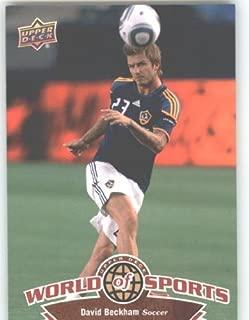 2010 Upper Deck World of Sports #61 David Beckham/Soccer Cards/Galaxy /