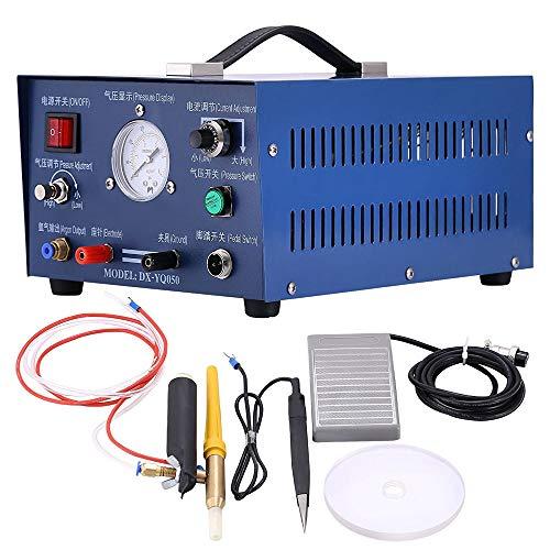 MXBAOHENG Pulse Argon Punktschweißgerät 0,5-3 mm Stumpfschweißgerät DX-50A-1 400 W Schmuck Pulse Sparkle Schweißgerät für Gold Silber Platin Laser Punktschweißgerät 220 V