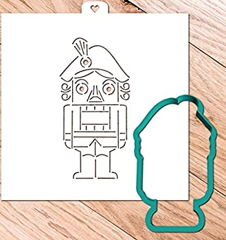 Cookie Cutter with Stencil set NUTCRACKER