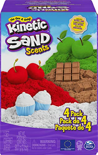 Kinetic Sand 6058353 - Duft Sand 4er Pack, 905g