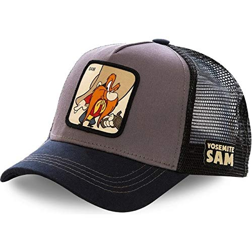 Newest 50 Styles Mesh Cap Cotton Baseball Cap For Men Women Hip Hop Trucker Hat Gorras Casquette-SAM Grey-54cm-62cm