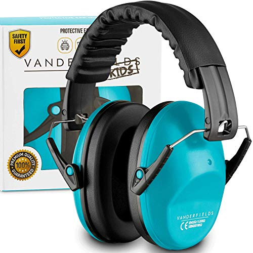 Vanderfields Earmuffs for Kids - Comfortable Adjustable Foldable...