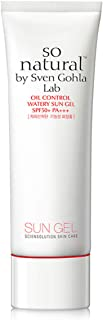 so natural by Sven Gohla Lab Sebum Control Water Sun Gel SPF 50+ PA+++
