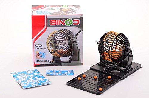JohnToy–25025–Gesellschaftsspiel–Bingo mit 90Nummern