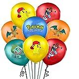Fete 20 palloncini Pokemon Party Compleanno Palloncini Helium Pikachu Ash