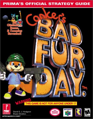 Conker's Bad Fur Day: Prima's Official Strategy Guide (Prima's Official Strategy Guides)