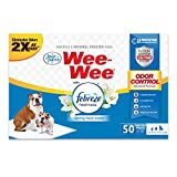Wee-Wee Puppy Training Pee Pads 50-Count 22' x 23' Standard Size Pads with Febreze
