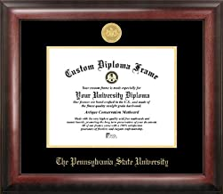 Campus Images PA994GED Penn State University Embossed Diploma Frame, 8.5