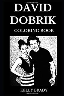 David Dobrik Coloring Book: Legendary YouTube Star and Famous Comedian, the Vlog Squad Member and Millennial Icon Inspired Adult Coloring Book (David Dobrik Books)