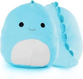 HOWADE Plush Toys, Cute Dinosaur Stuffed Animals Plush Toy Pillow Doll Soft Plushies Lumbar Back Cushion