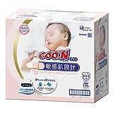 グーンプラス 敏感肌設計 新生児用 176枚(88枚×2パック)