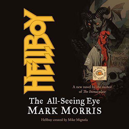 Hellboy audiobook cover art