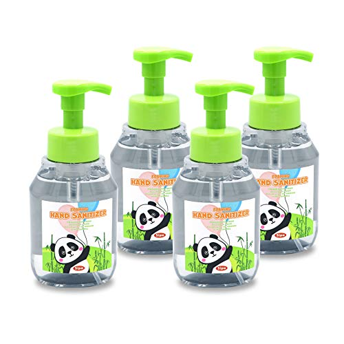 SIPA Alcohol-Free Foaming Hand Sanitizer, Fragrance-Free Moisturizing Hand Perfect for Sensitive Skin Non-sticky, No Rinse,10.8oz (320ml) (PACK OF 4)