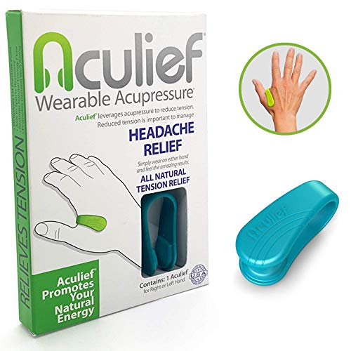 NATURAL HEADACHE AND TENSION RELIEF. Aculief provides pressure to the LI4 acupressure point. The LI4 acupressure point is one of the most powerful points on your body and has been used for thousands of years to provide natural relief of headaches, te...
