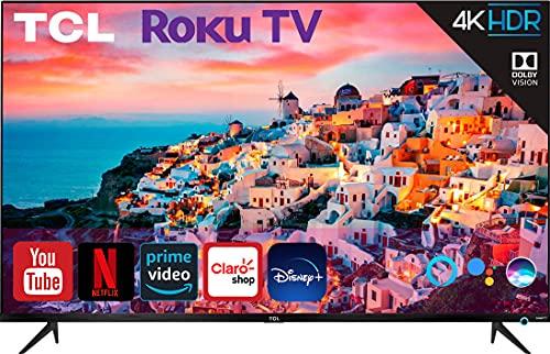 TCL Televisión Class 4K UltraHD Dolby Vision HDR10 Smart TV Netflix Youtube Prime Video Disney + Control por Voz con Siri, Alexa y Google Serie S525, 50' 50S525
