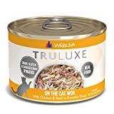Weruva Truluxe Cat Food, On The Cat Wok With Chicken Breast & Beef In Pumpkin Soup, 6Oz Can (Pack Of 24)