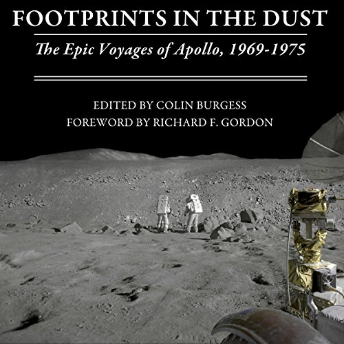 Footprints in the Dust audiobook cover art