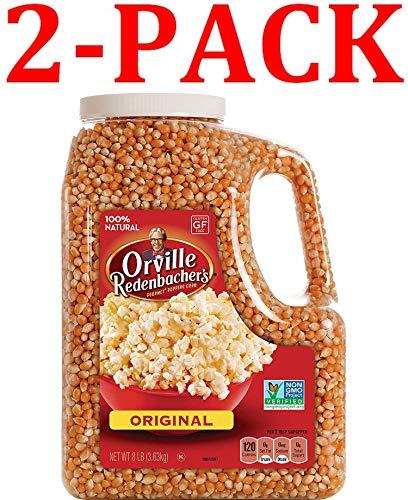 Orville Redenbacher's Gourmet Popcorn Kernels, Original Yellow, 8 lb (Gourmet Yellow (8 lb)...