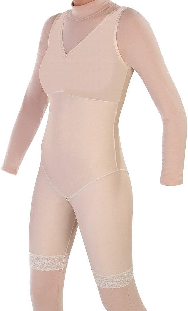 ContourMD Post Surgery - Mid Thigh National uniform free shipping Body No Shapewear S Max 57% OFF Zippers