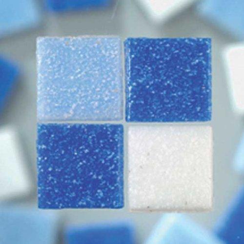 MosaixPro 200 g, 10 x 10 x 4 mm, 302, Vetro, Piastrelle, Colore: Turchese
